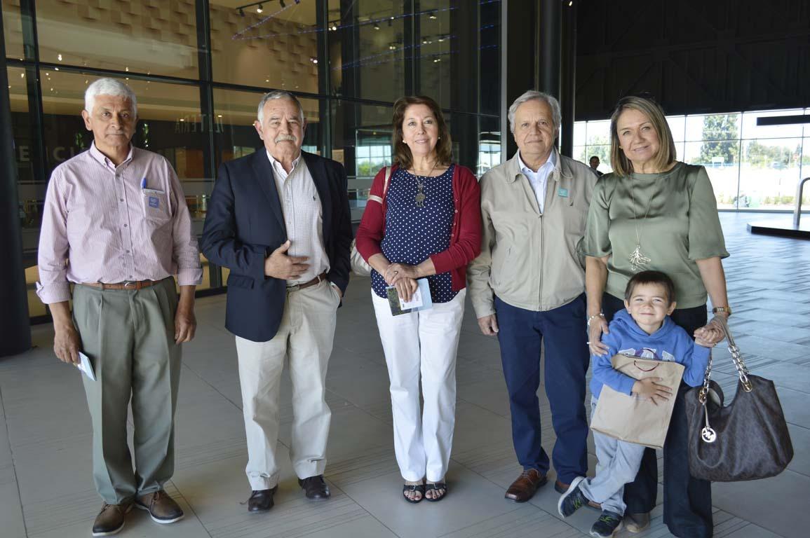 José Olivares, José Pedro Cifuentes, Patricia Briones, Alejandro Lama y María De Los Ángeles Arriagada
