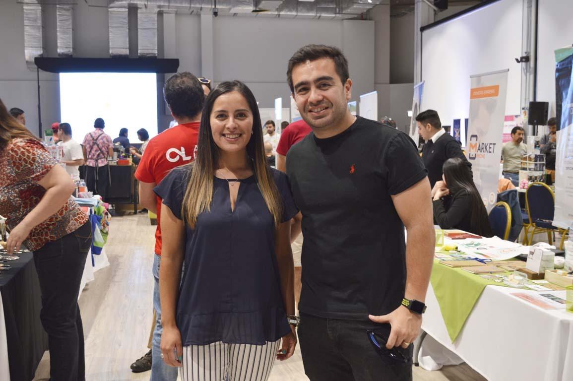 Jennifer Zúñiga y Rodrigo Contreras