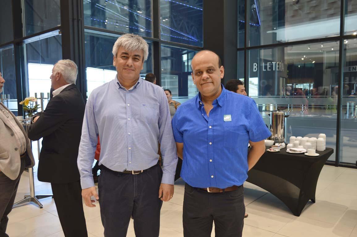 Juan Riffo y Rodrigo Muñoz