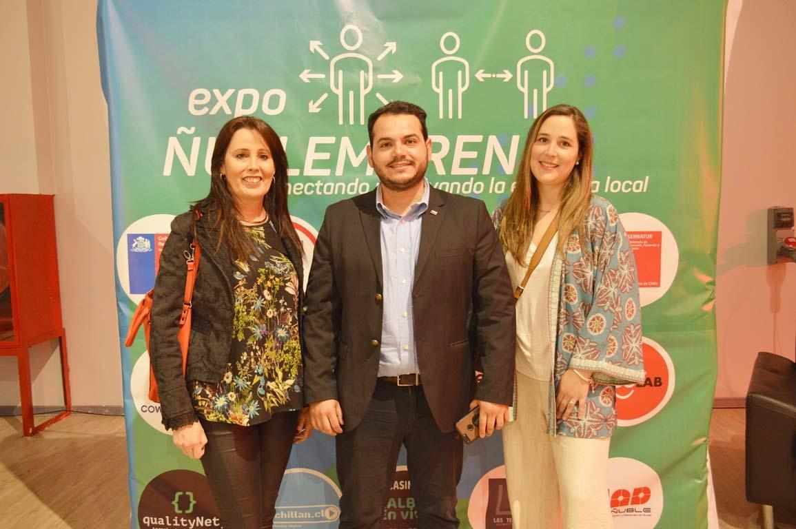 Fernanda Machuca, Roger Cisterna y María José Murgadas