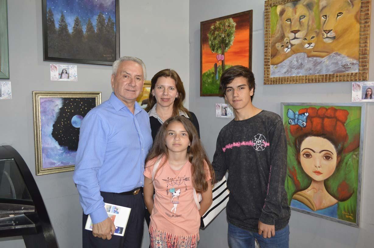 Joaquín Tejos, Jacqueline Vega, Josefa Tejos y Joaquín Tejos