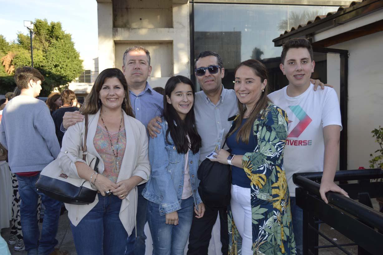 Daina Grinbergs, Jorge Grau, Elena Valdés, Boris Valdés, Viviane Soto y Sebastián Grau