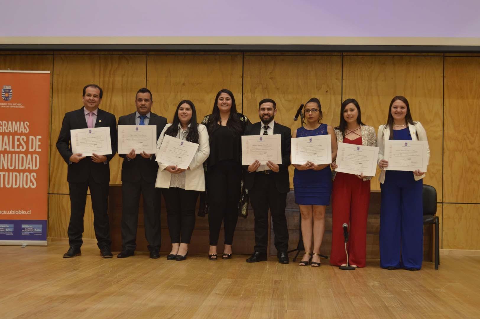 Titulados de Ingeniería de Ejecución en Administración de Empresas