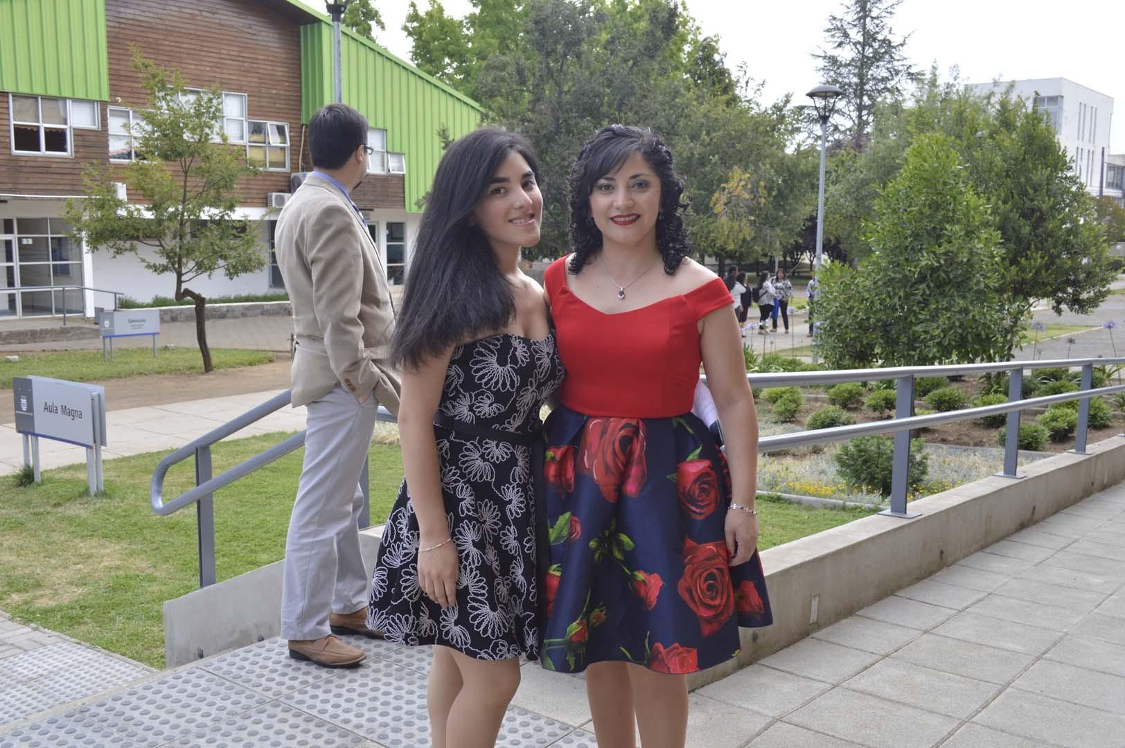Valentina Sepúlveda y Pablina Navarrete
