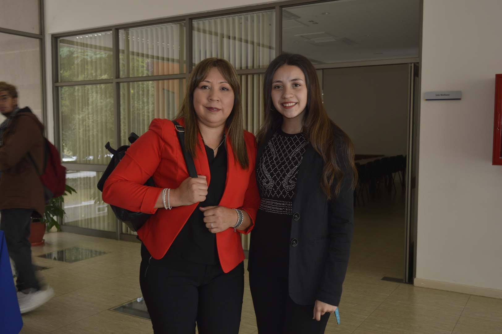 Fabiola López y Katia Ferrada