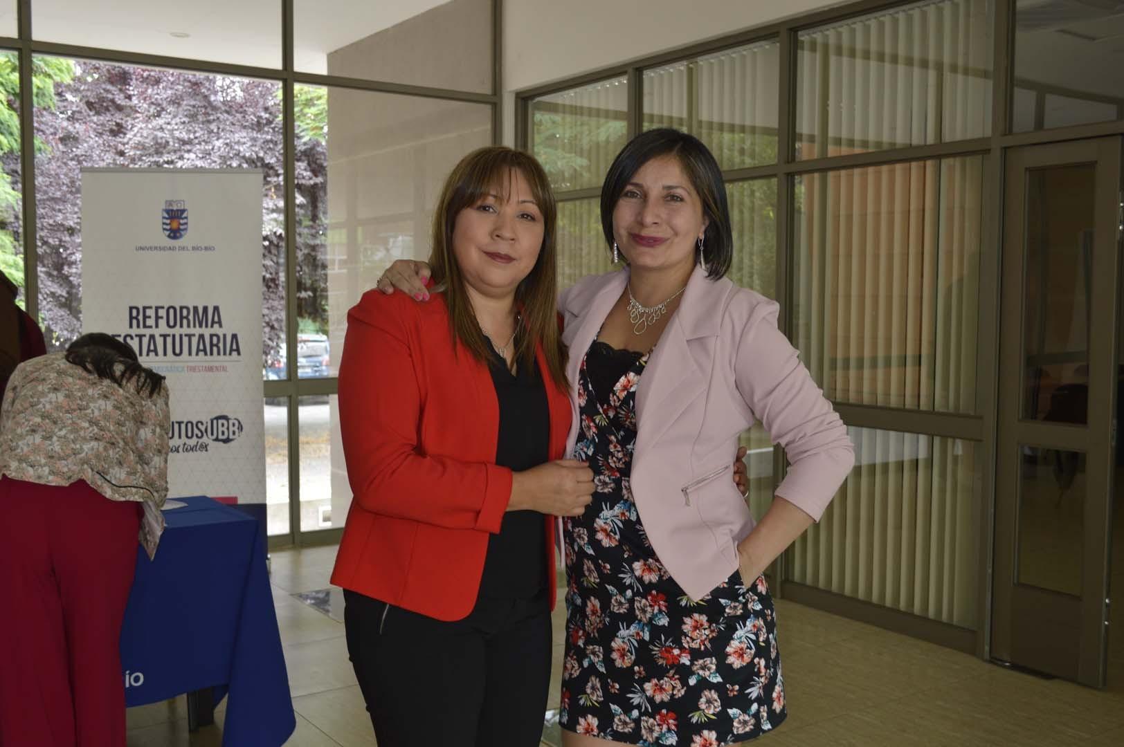 Fabiola López y Florencia Urrutia