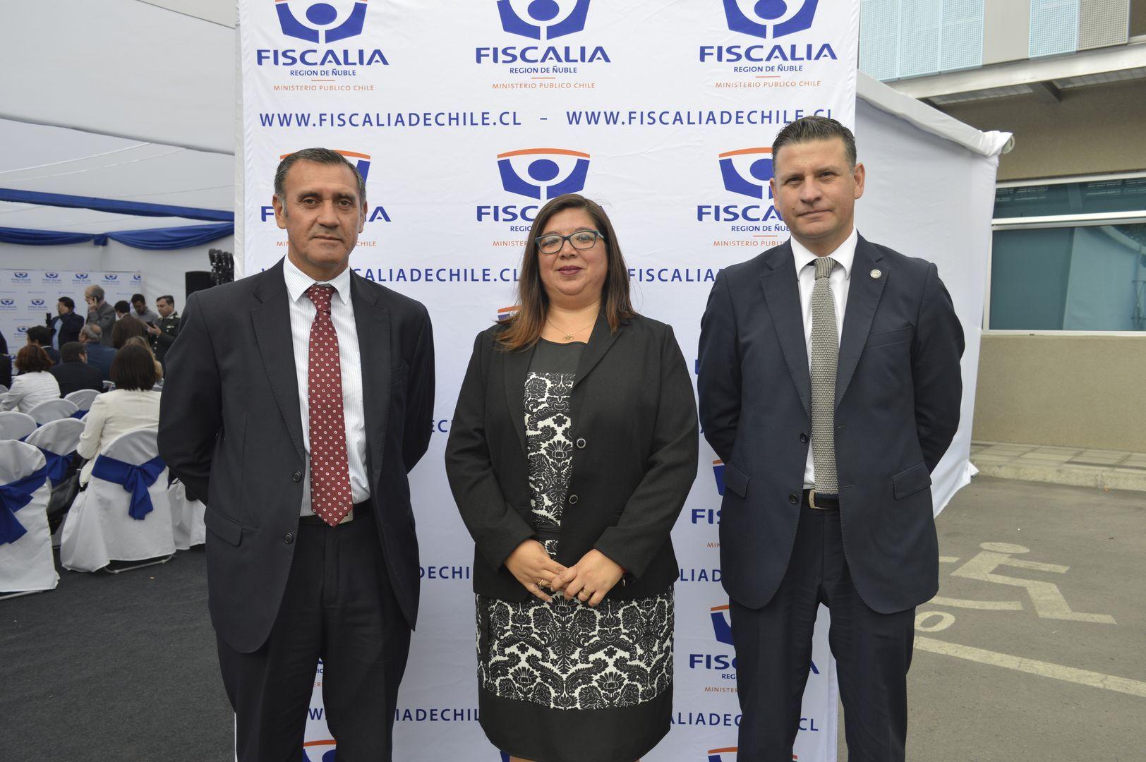 Danilo Bastías, Fabiola Pulgar y Francis Martinic