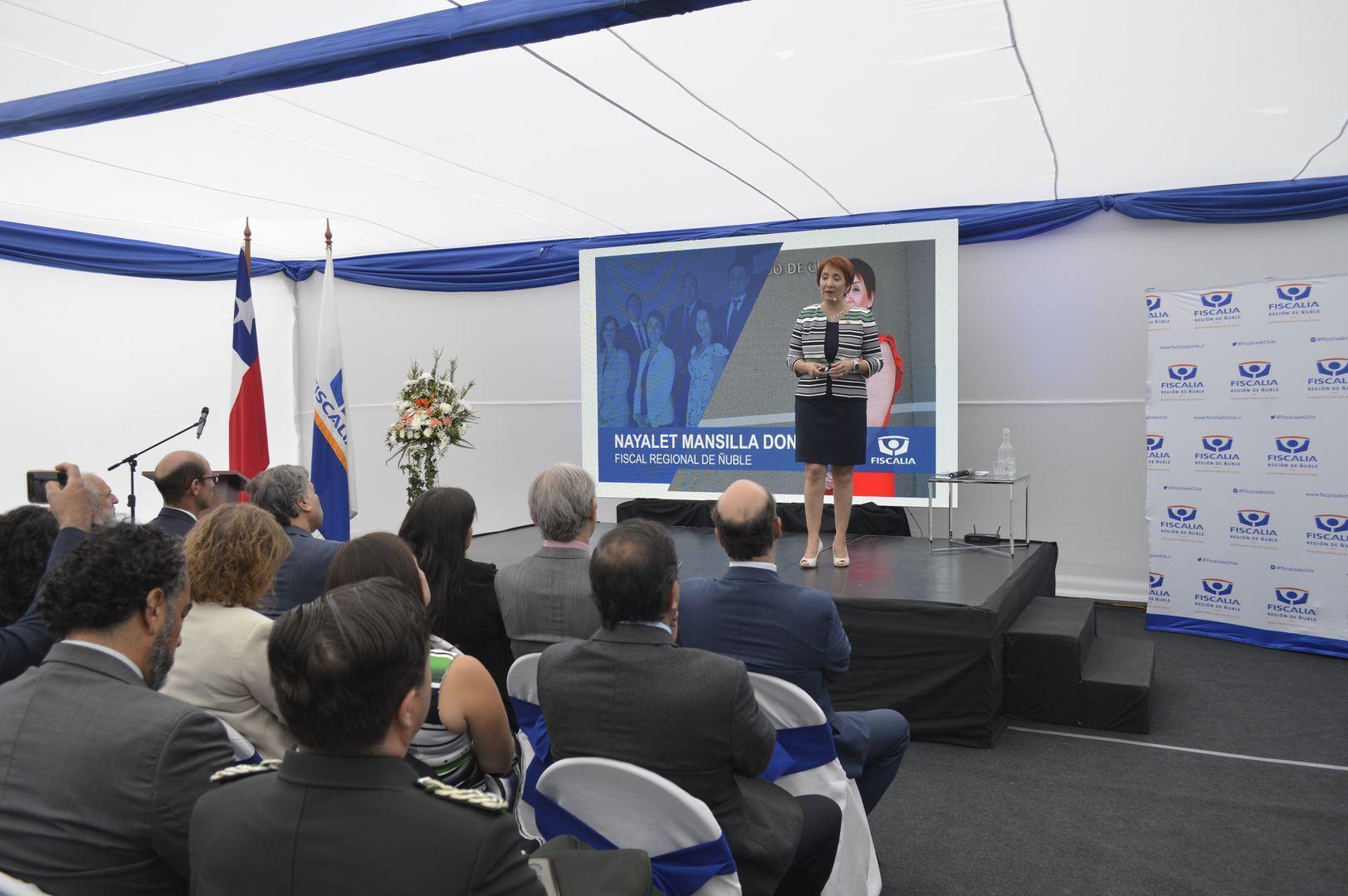 Desarrollo de Cuenta Pública Fiscalía Región de Ñuble