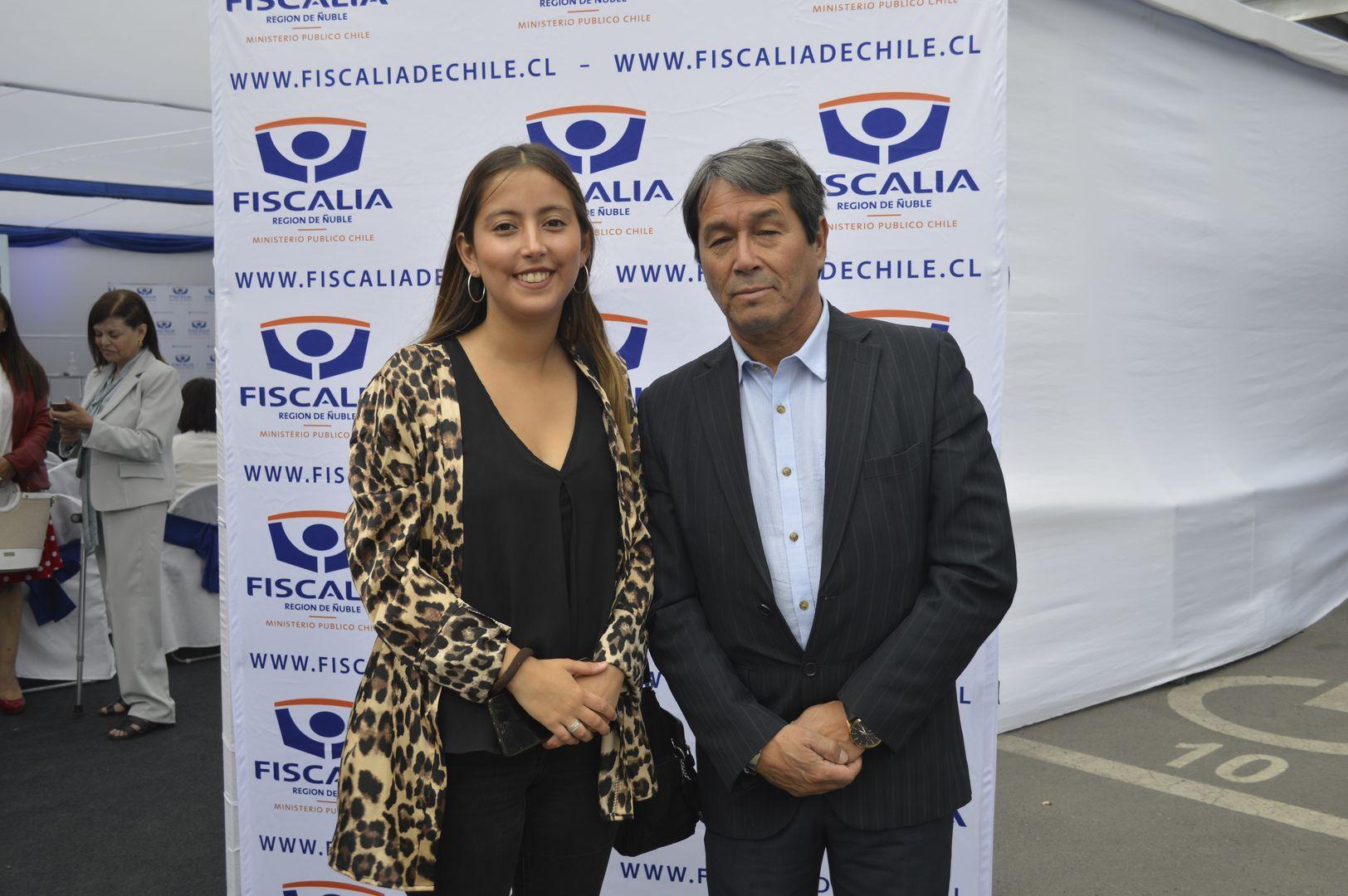 Claudia Lagos y Héctor Somo