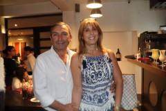 Juan Carlos Tapia y Jacqueline Osorio.