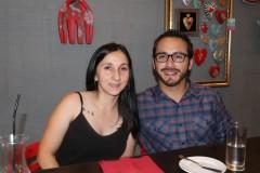Paulina Cisterna y Andrés Cid.