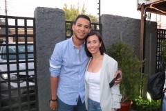 Carlos Hernández y Rosemarie Muñoz.