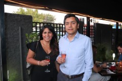 María Olga Ramos y Marco Vidal.