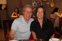 Luis Quevedo y Natalia Jara.