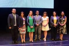 Felipe Muñoz, Claudia Moraga, Claudia Mora, Rodrigo Palacios, Sandra Maldonado, Marioli Brito e Ingrid Rebolledo.