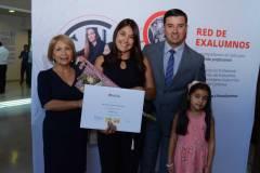 María Eugenia Bravo, Marcela González, Felipe Ortega e Isidora Ortega.