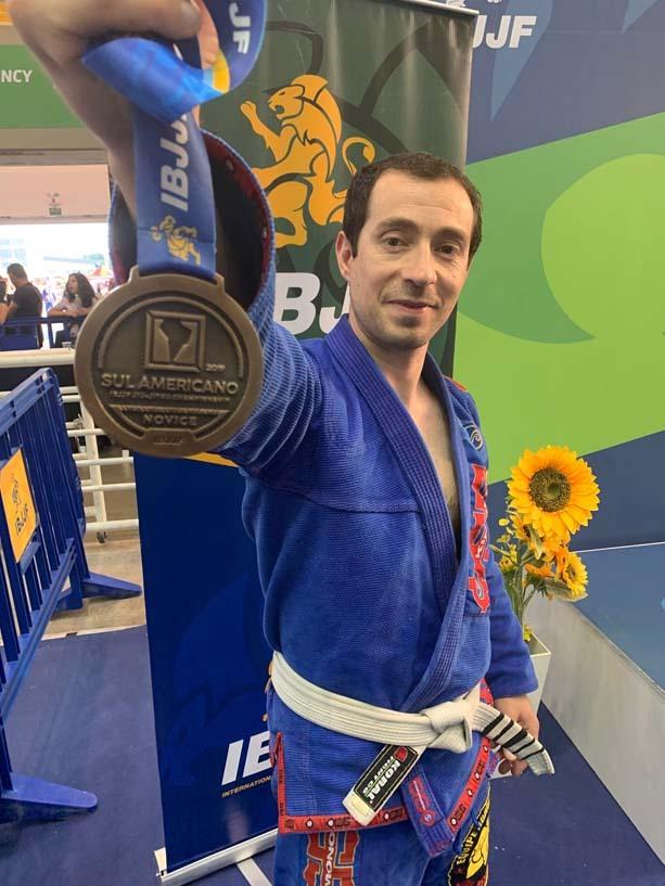 Sudamericano de Jiu-Jitsu 2019 realizado en Brasil