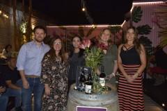 Hugo Iturra, Beatriz Iturra (Arauco), Heidi Inostroza (Directora Regional Sernatur), Alexandra Junge y Karina Maureira (Jefa Oficina Municipal de Turismo Chillán)