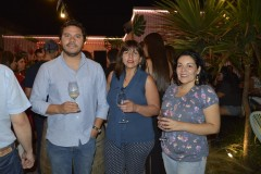Francisco Sotz (Arauco), Aracely Godoy y Carmen Garrido.