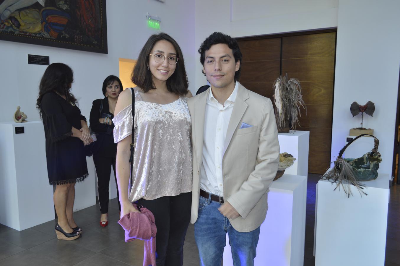 Josefina Burgos y Diego Romero