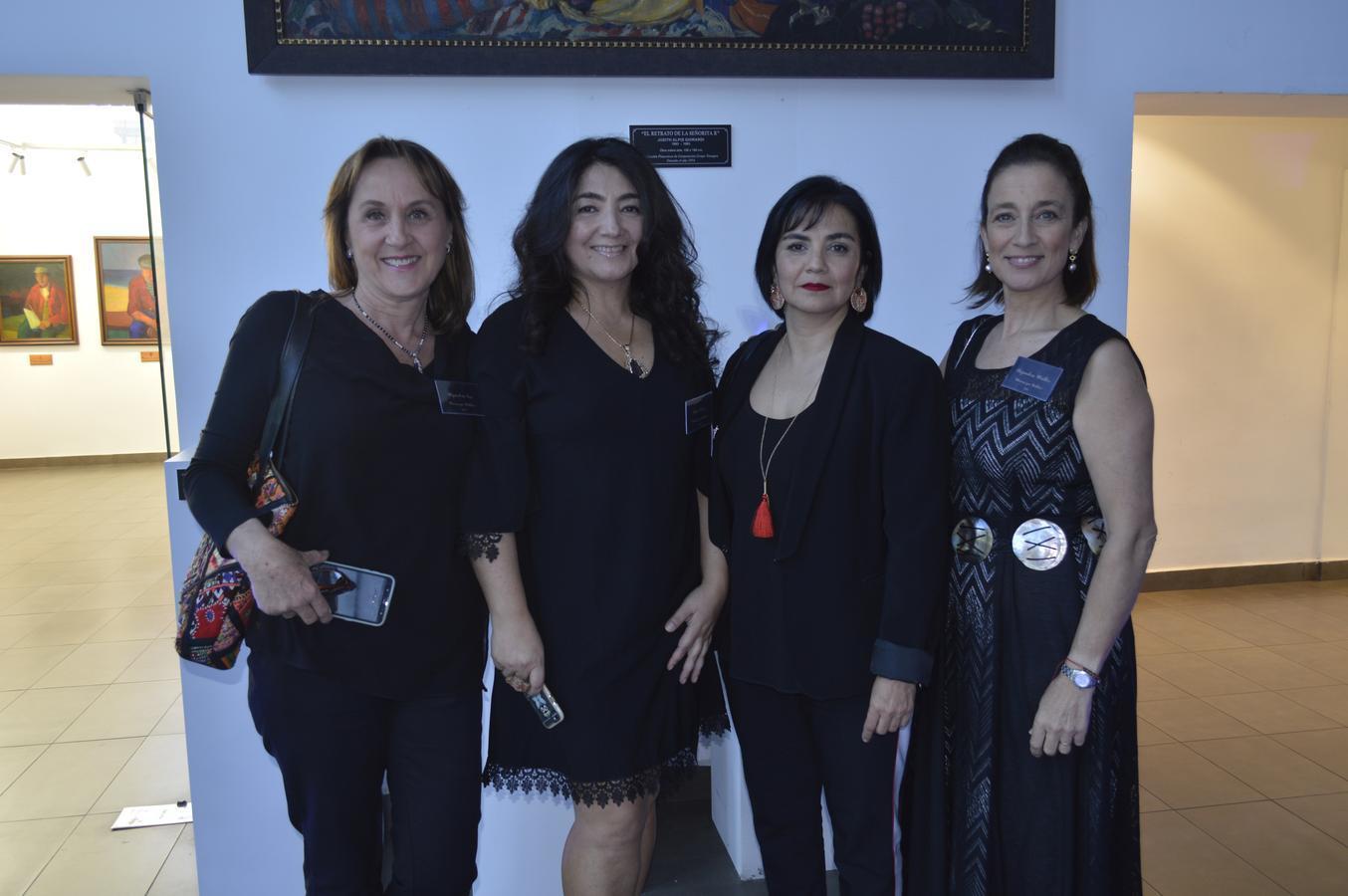 Alejandra Cox, Pilar Flores, Ema Vera y Alejandra Müller