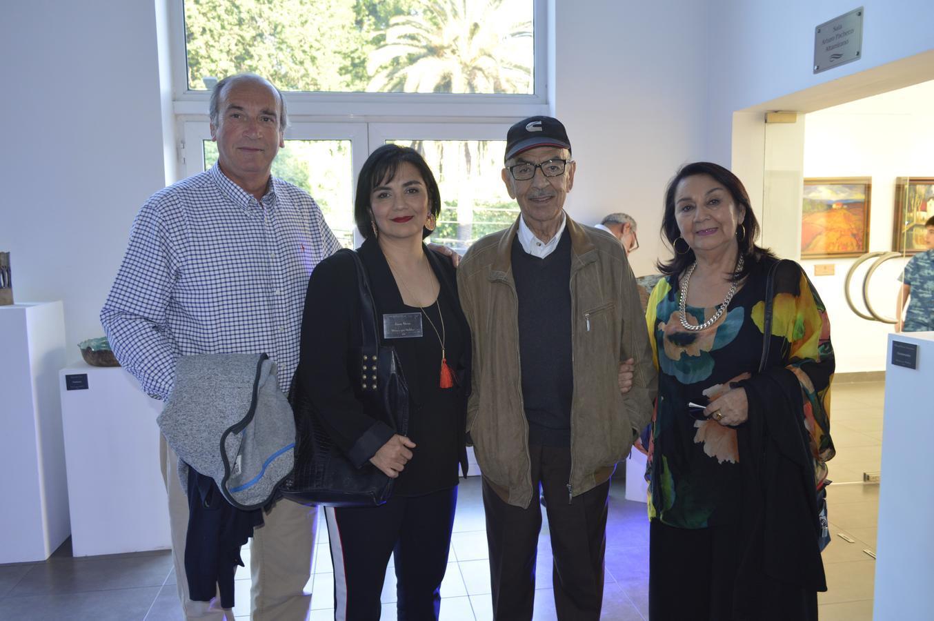 Rodrigo Ponzini, Ema Vera, Francisco Vera y Maruja Castro