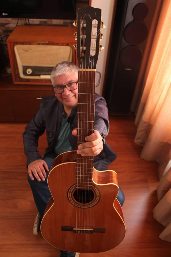 Miguel Ángel Rivera, músico y productor angelino