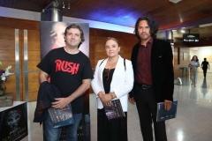 Álvaro Gallegos, Pamela Uriarte y Mario Cabrera.
