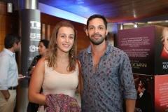 Camila Malicet y Carlos Rojas
