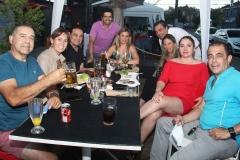 Gonzalo Parra, Fernanda Machuca, Jorge Egaña, Víctor Cáceres, María Paz Mellado, Francisco Lara, Sandra Fernández, Alejandra Crisóstomo y Claudio Ruiz.