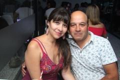 Jacqueline Aceitón y Juan Ramón Álvarez.