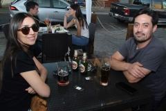 Leticia Palma y Manuel Saavedra.