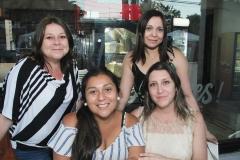 Nayaret Candia, Daniela Llanos, Pabla Román y  Paola Venegas.