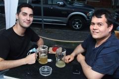 Sergio López y  Rodrigo Jelwez.