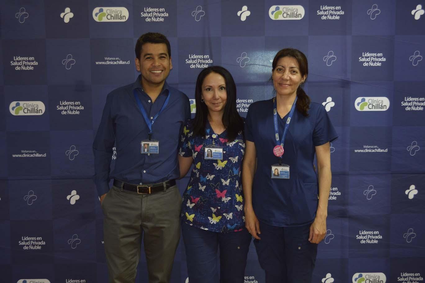 Alberto Núñez, María José Hernández y Leticia Carreaux