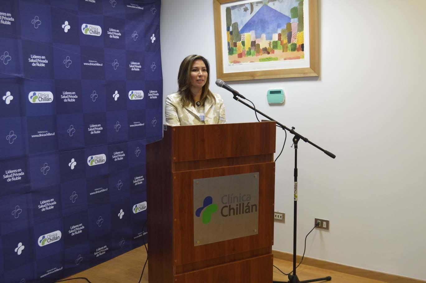 Mónica Jiménez, gerente general de Clínica Chillán