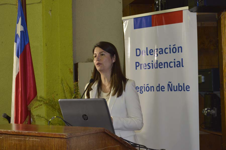 Photo of Lorena Vera, Delegada Presidencial Región de Ñuble