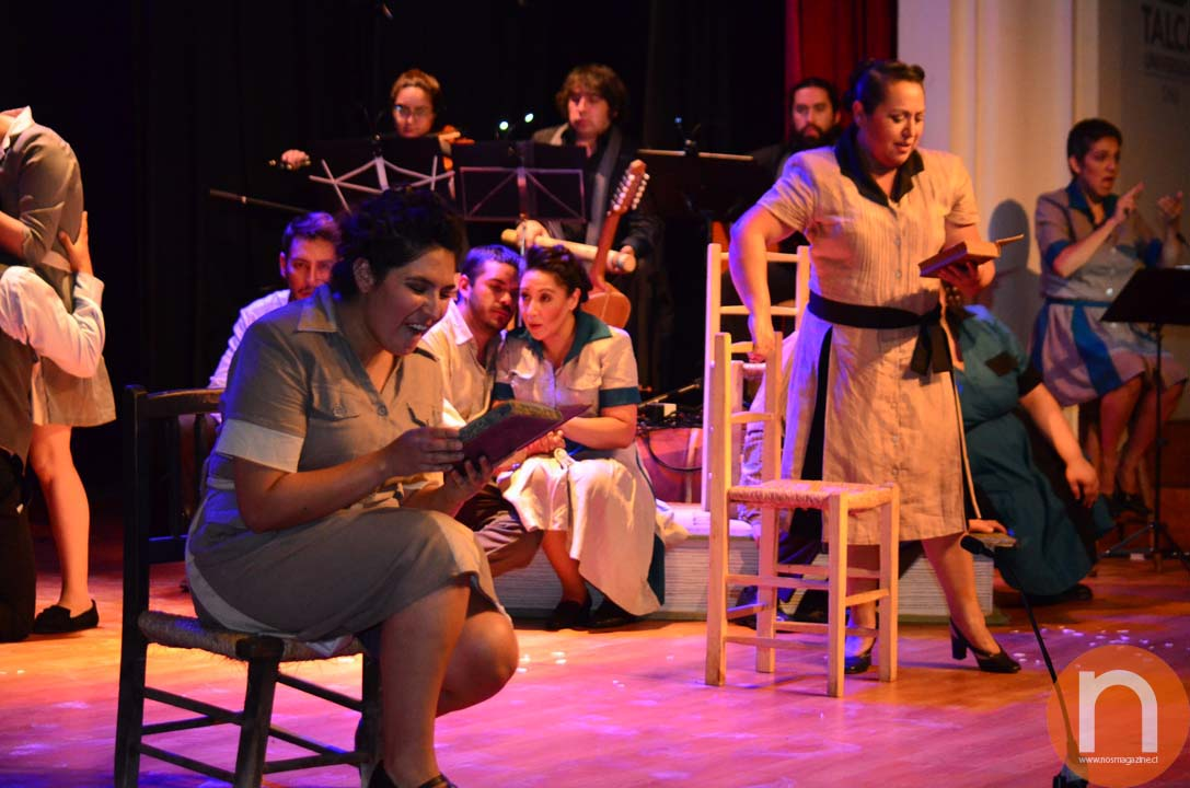 """Photo of Musical """"60 años sin Gabriela"""" se estrenó en Talca"""
