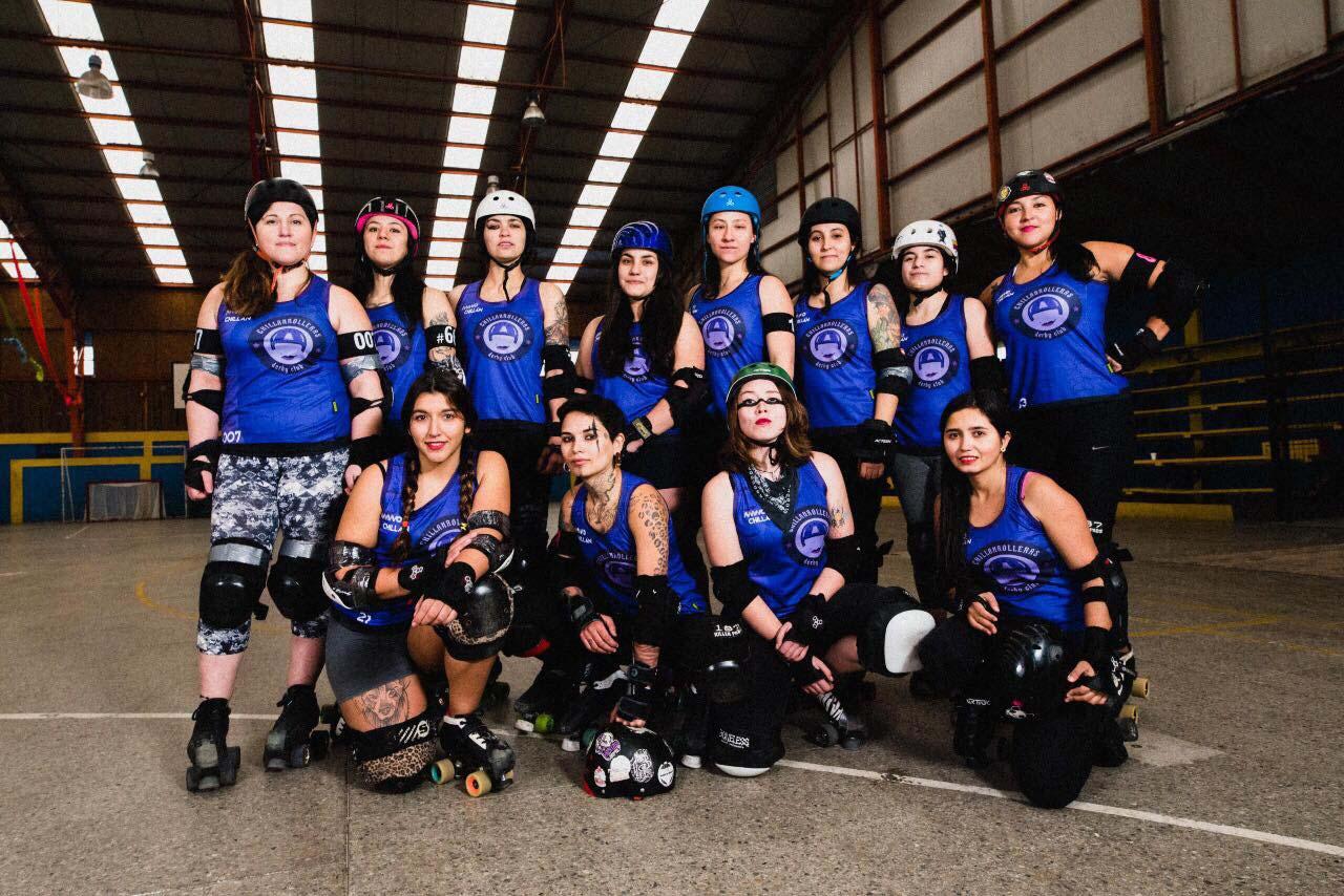 Photo of Roller Derby. Fuerza, velocidad y compañerismo