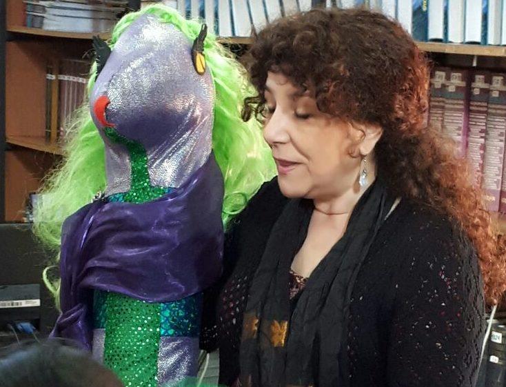Photo of Una serpiente de visita en la Escuela México