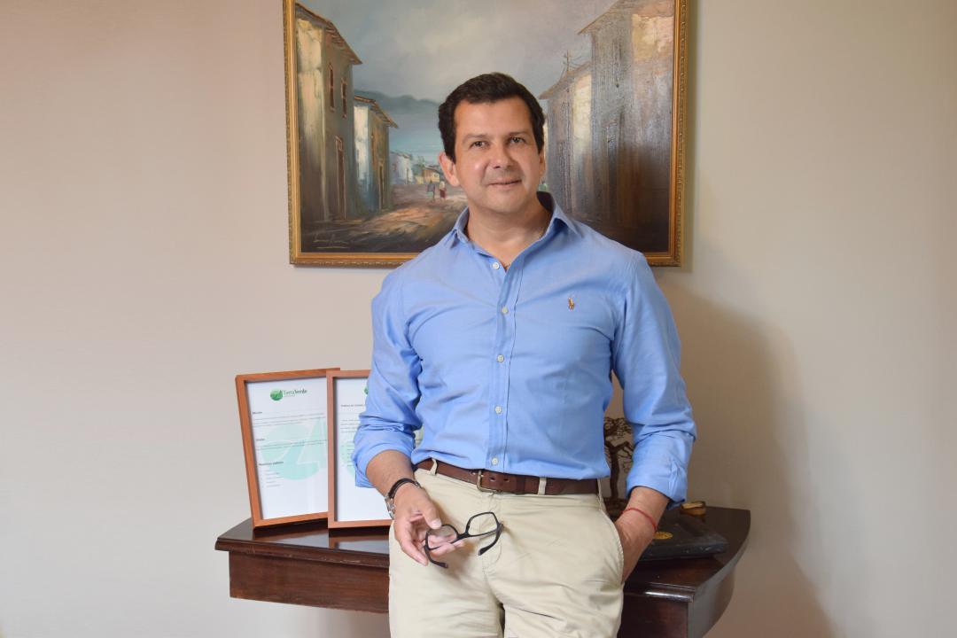 Claudio Adasme, Gerente General Tierra Verde