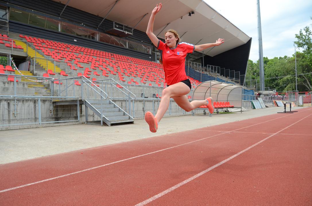 Catalina Cárcamo, atleta