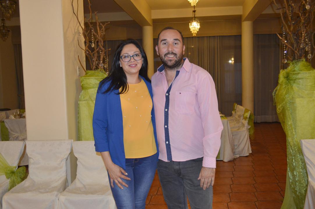 Catherine Gutiérrez y Emilio Fariña