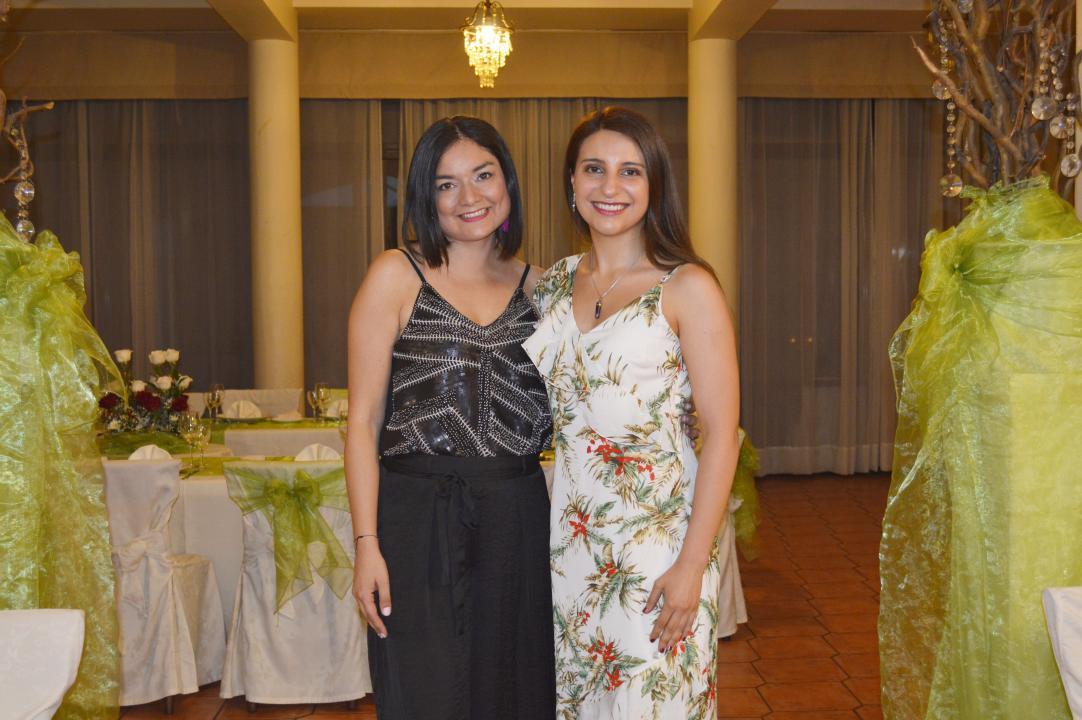Verónica Andrade y Yenesis Moraga
