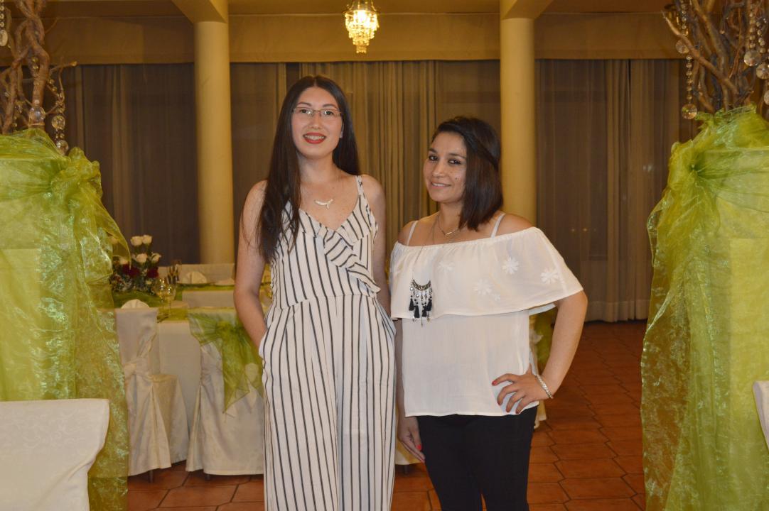 Loreto Millar y Texia Ramos