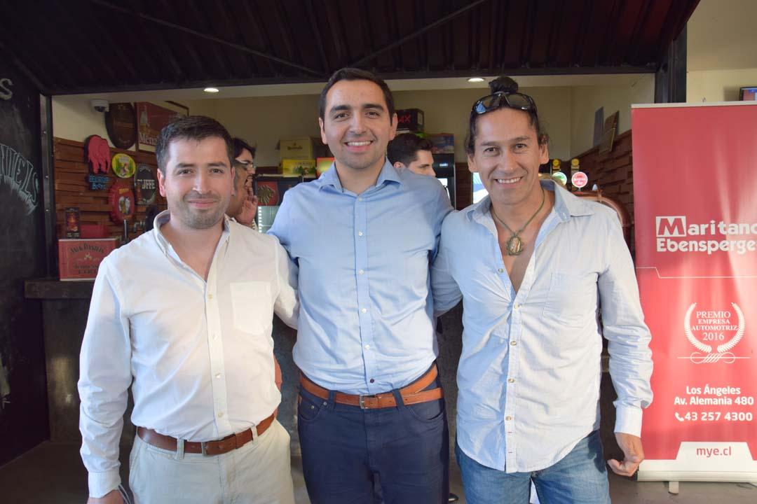 Eduardo Lantadilla, Julio Garcías y Marco García