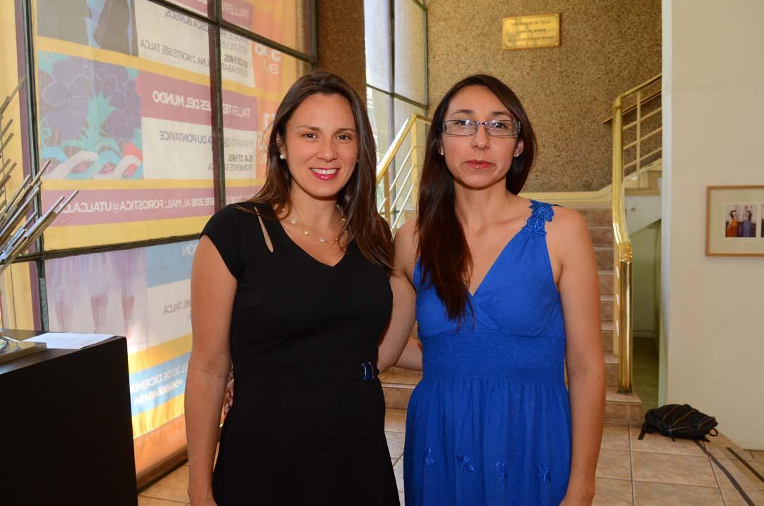 Katherine Núñez y Katherine González