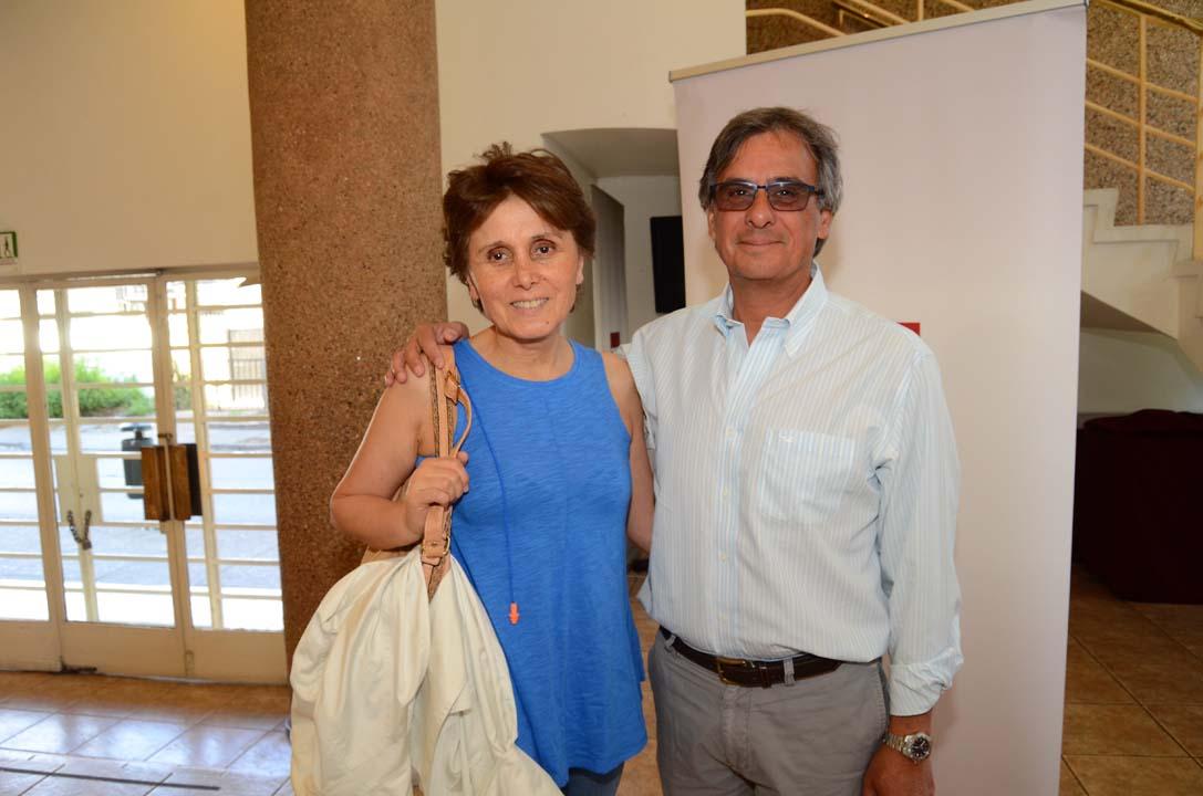Marisol Beals y Mauricio Fuentes