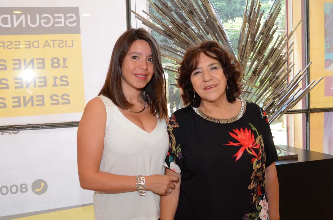 Patricia Muñoz y Patricia Opazo