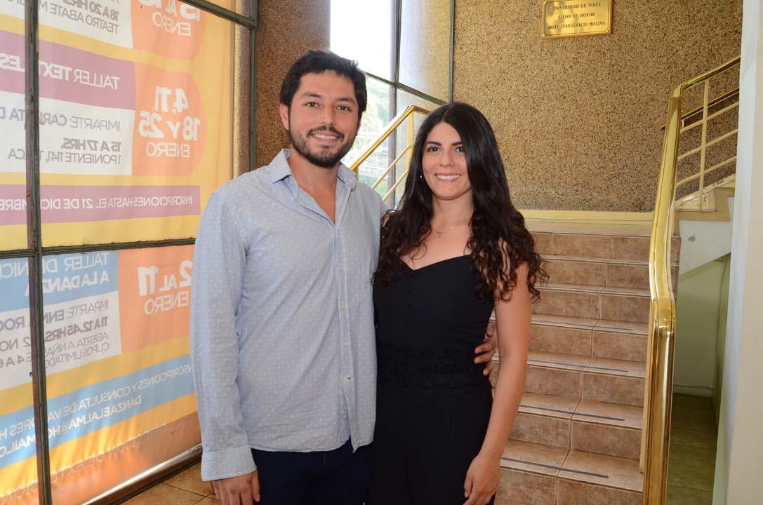 Sergio Pérez y Alejandra Parra